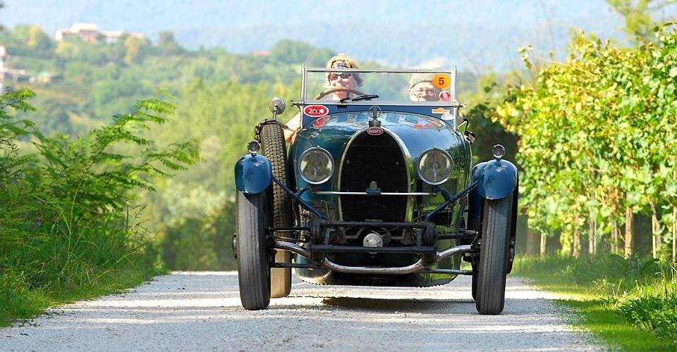 Centomiglia in Veneto, evento da scoprire con auto d'epoca