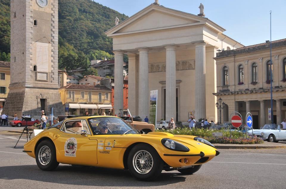 visita a Treviso in auto d'epoca - evento centomiglia veneto