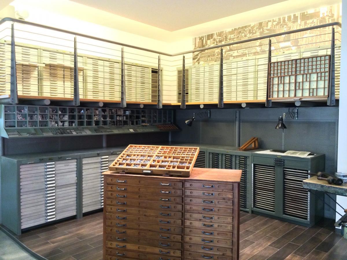 Museo della Stampa e del design tipografico - Visita in Veneto la Tipoteca Italiana nelle Colline del Prosecco