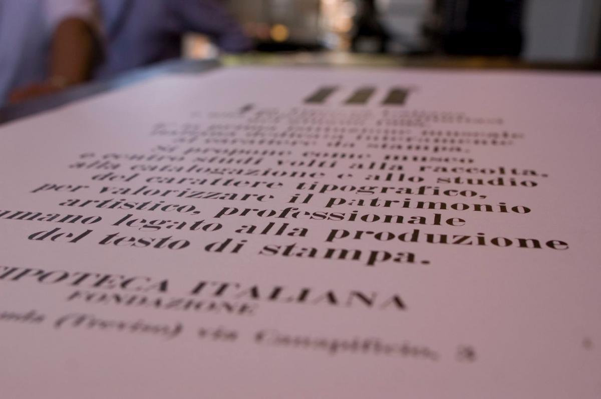 Vacanza culturale in Veneto alla scoperta del Museo della Stampa e del design tipografico - Visita in Veneto la Tipoteca Italiana nelle Colline del Prosecco
