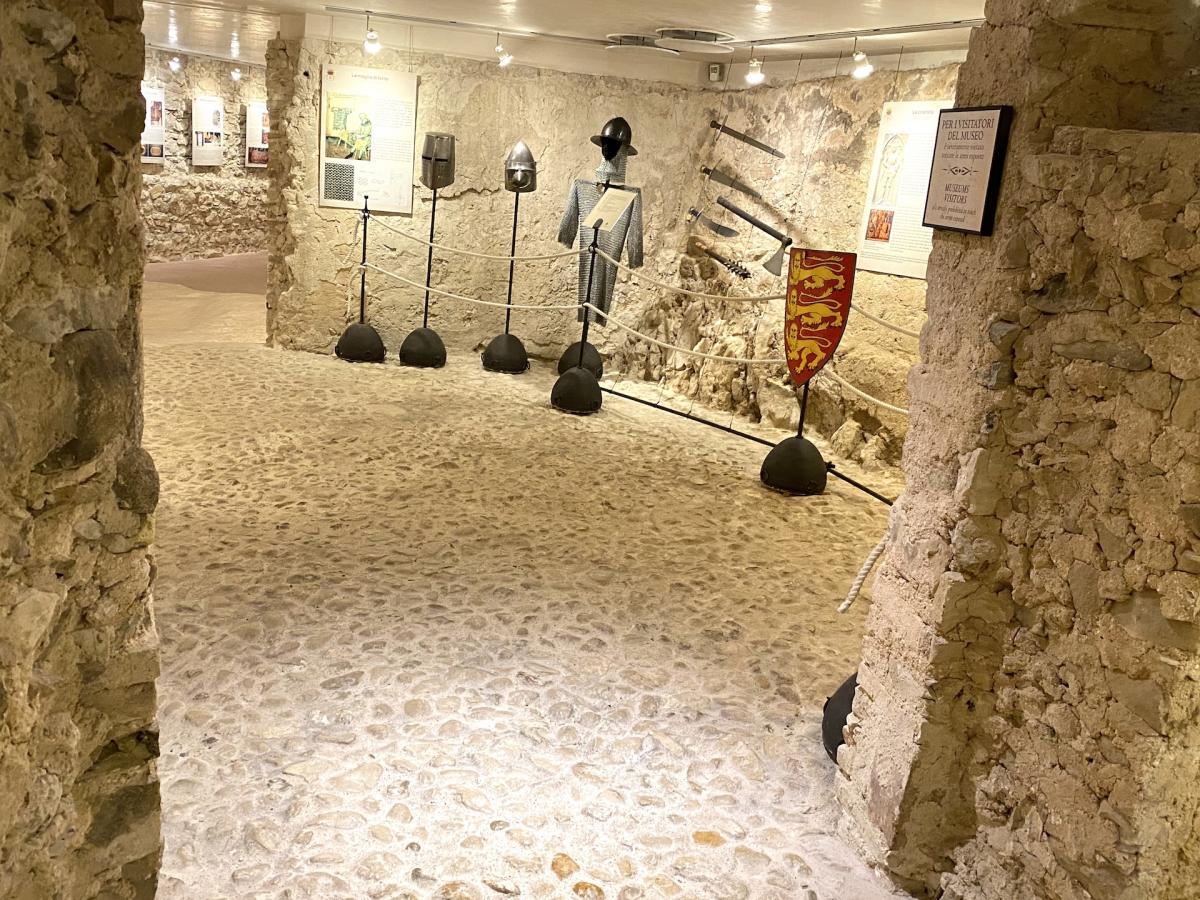 Castelbrando interni - Cison di Valmarino