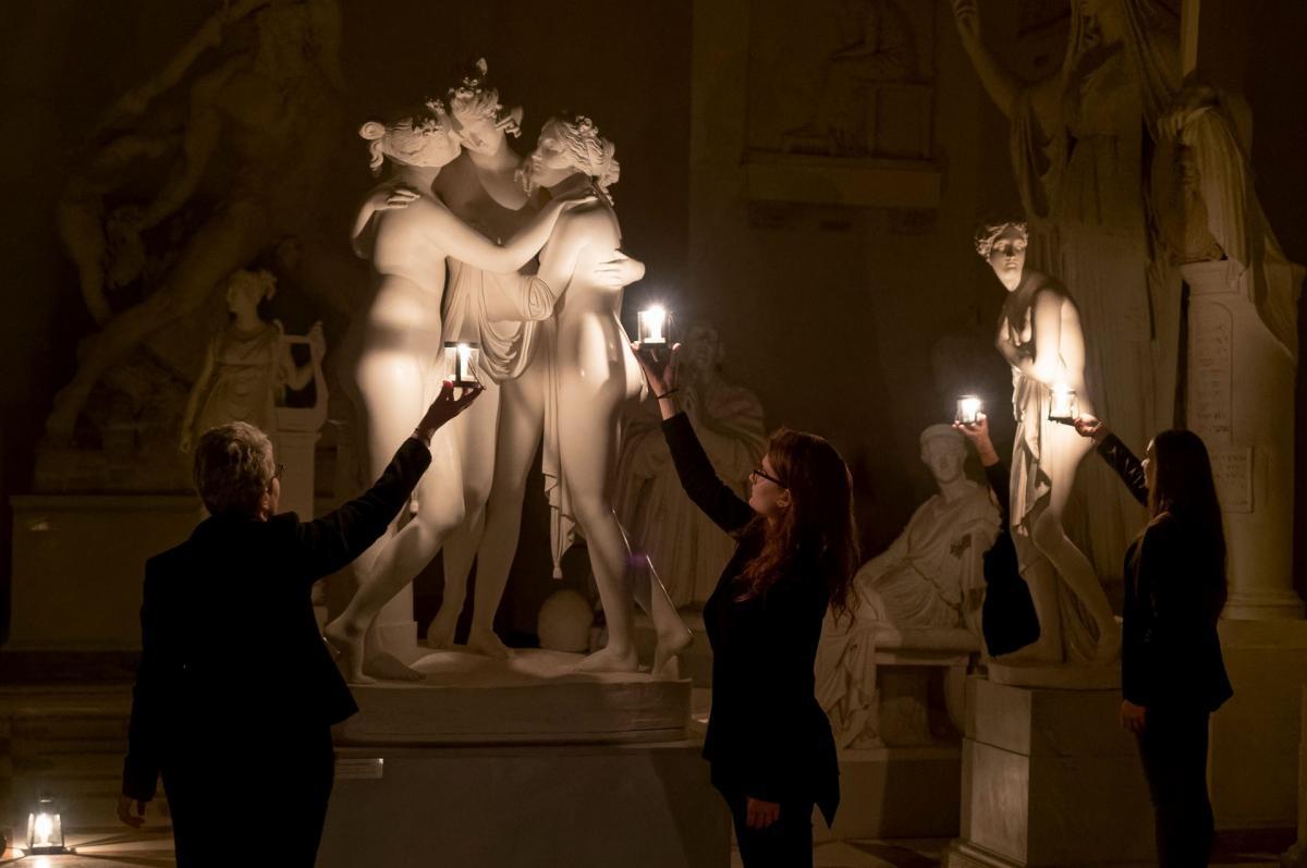 Antonio Canova e le sue opere a lume di candele - viaggio arte e cultura in Veneto