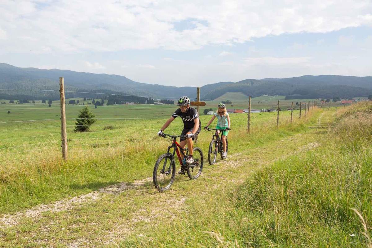 Itinerari in mountain bike in Veneto sulle Colline del Prosecco e La Foresta del Cansiglio