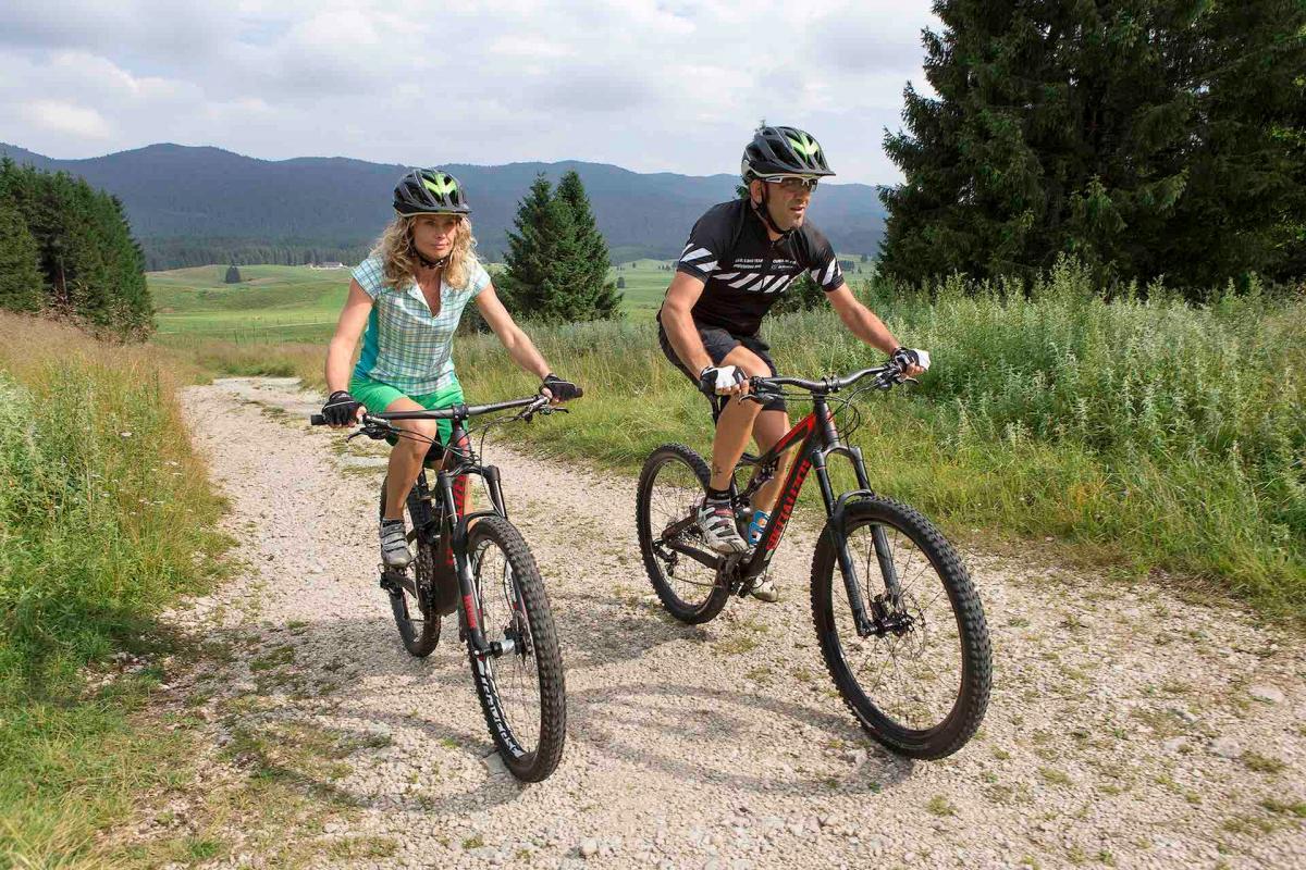 vacanza in mountain bike in Veneto sulle Colline del Prosecco e La Foresta del Cansiglio