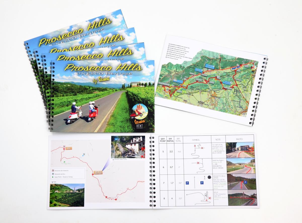 Road book - Vespa Rent Dolomiti