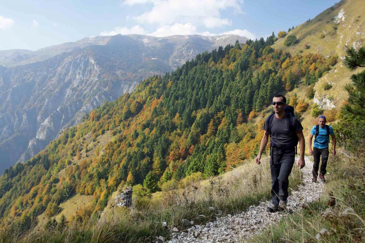 Trekking in Veneto sulle Colline del Prosecco Superiore e su tutta la valle del Piave, i migliori itinerari trekking in Veneto
