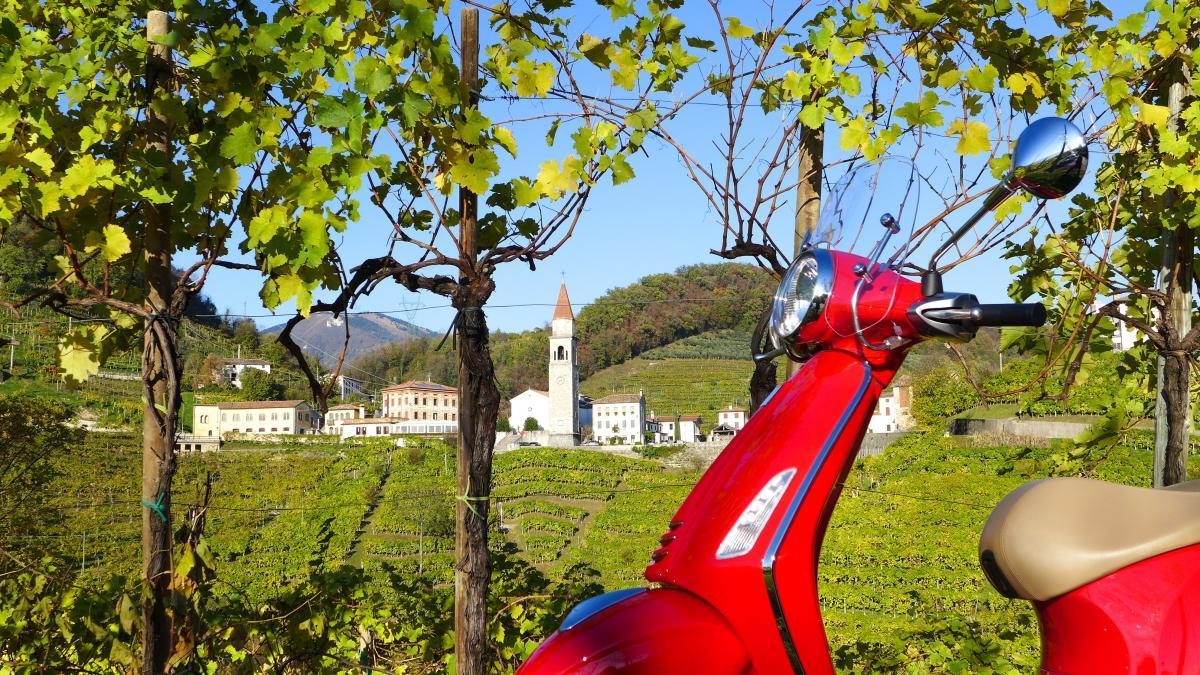 Tour in vespa tra le Colline del Prosecco Superiore - attività ed esperienze originali in Veneto