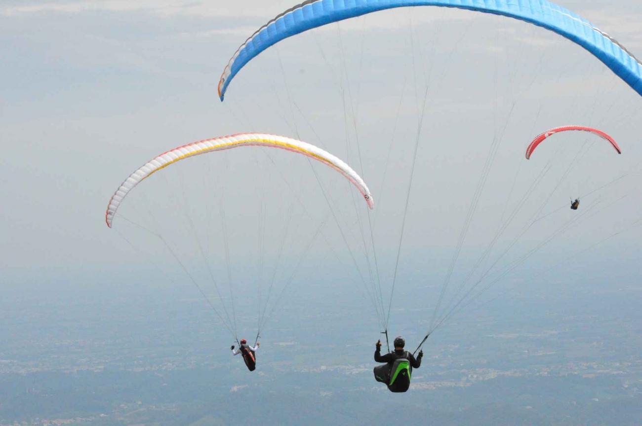 volare in parapendio e deltaplano in Veneto sulle Colline del Prosecco