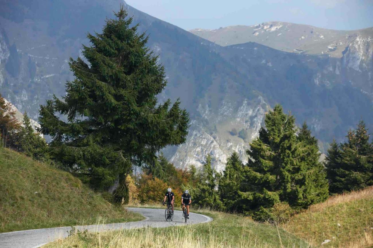 Esperienza in mountain bike sulla Strada del Prosecco in Veneto