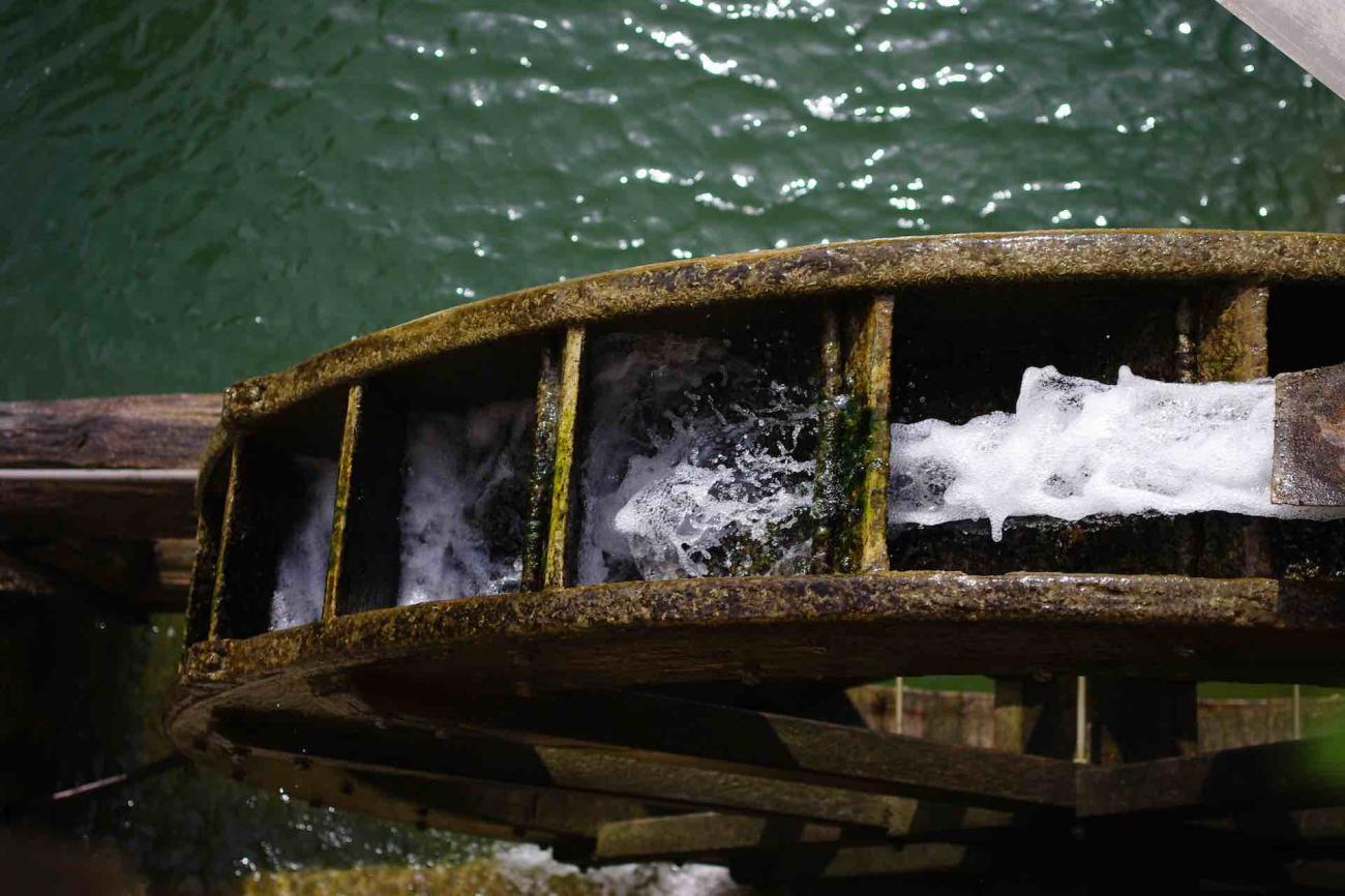 L'antico Molinetto della Croda ad acqua - area paesaggistica di rilievo della provincia di Treviso nella valle del Lierza