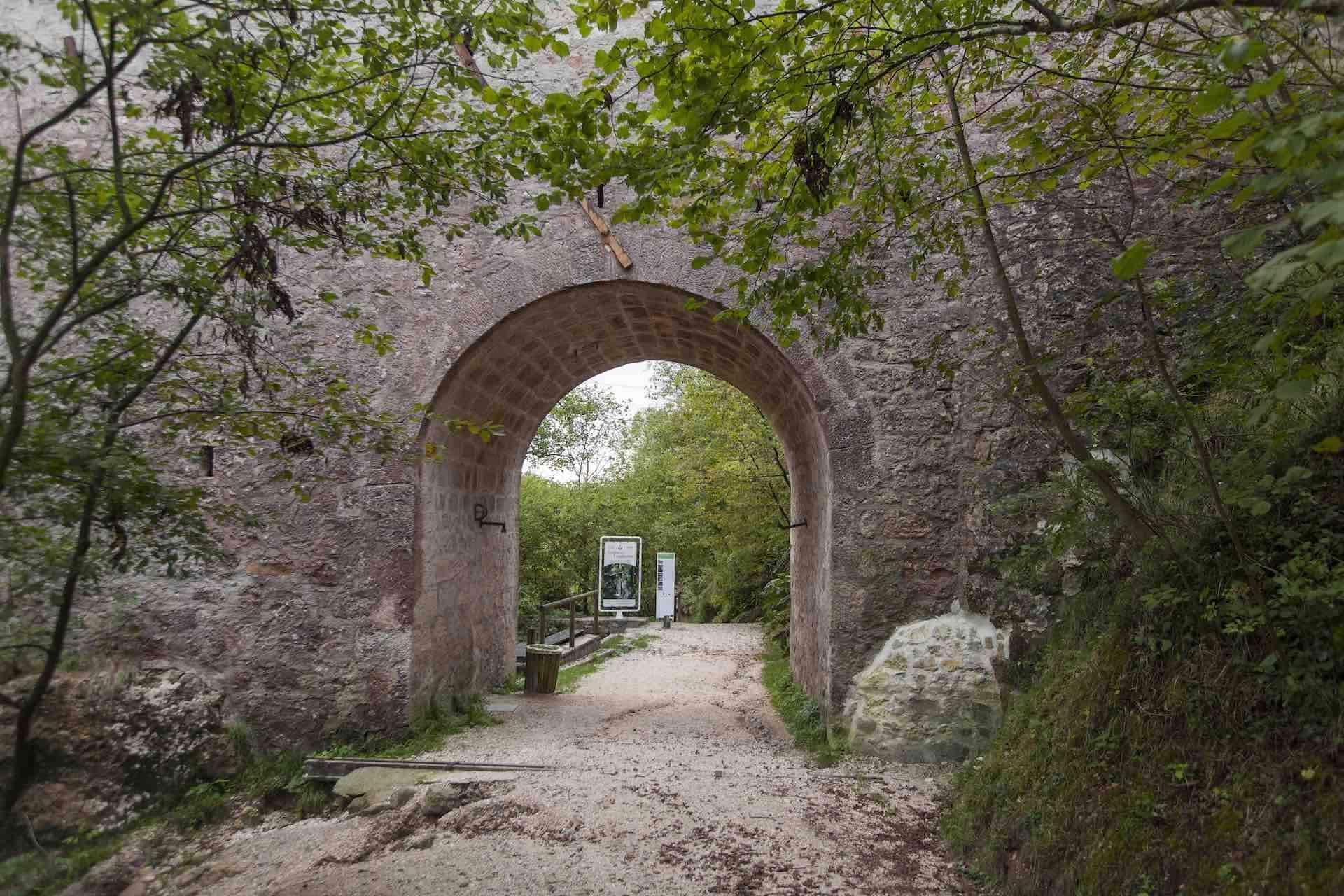 le grotte del Caglieron in Veneto