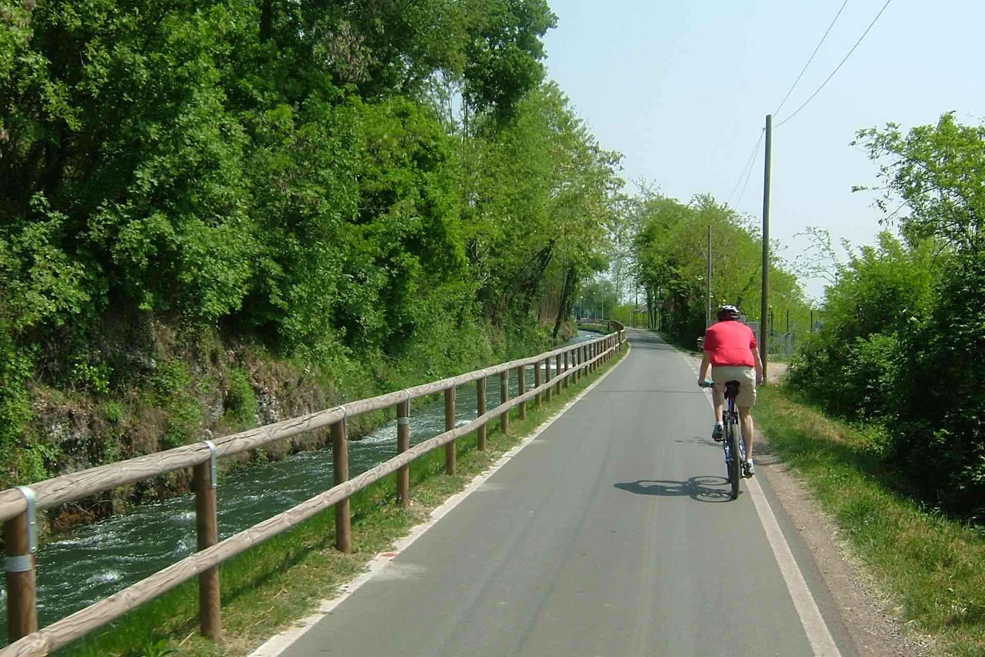 scopri il Montello in mountain bike durante la tua vacanza in bicicletta in Veneto