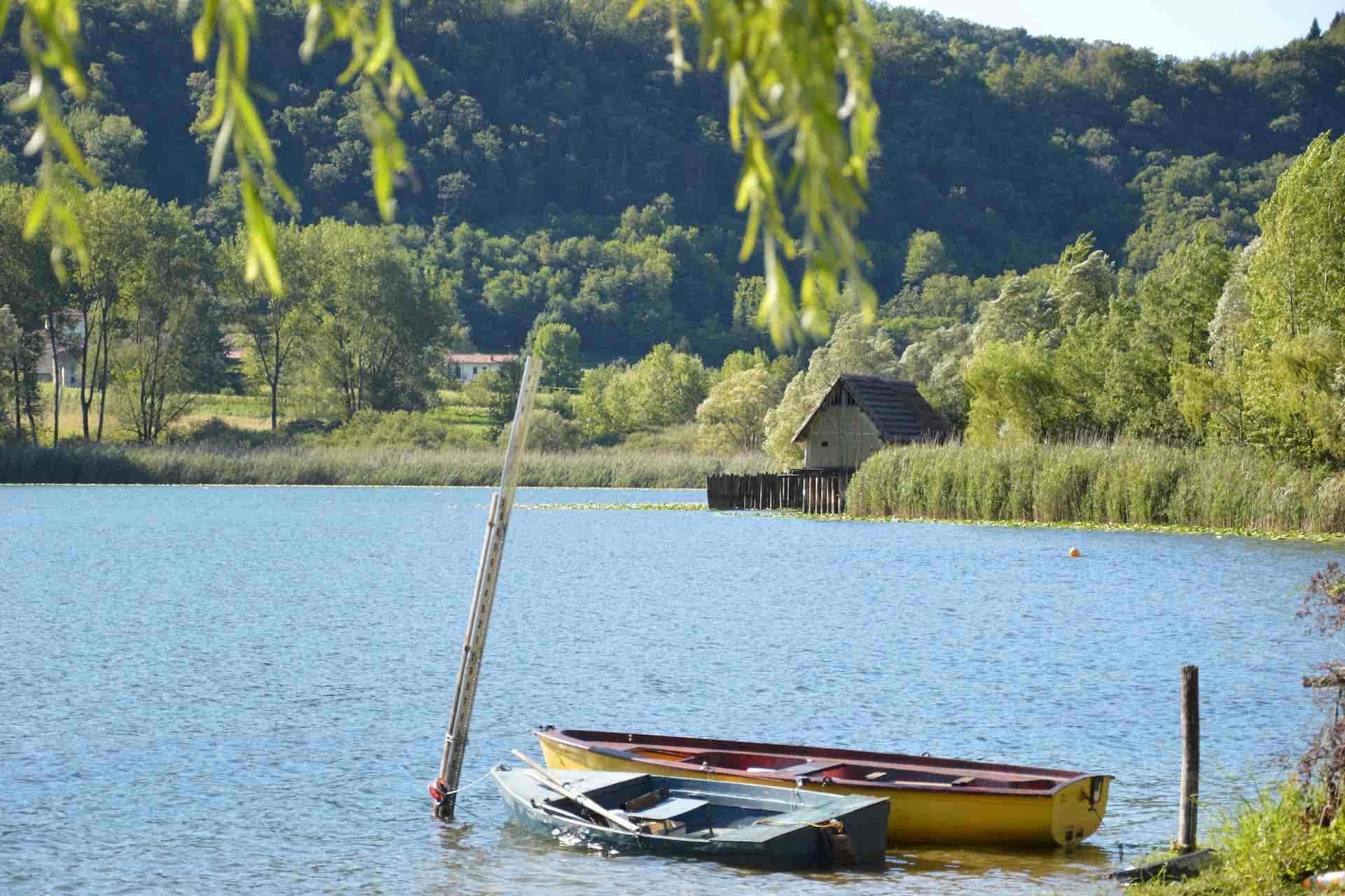 visita i Laghi di Lago e Santa Maria, laghi perfetti per un'escursione nella natura in Veneto