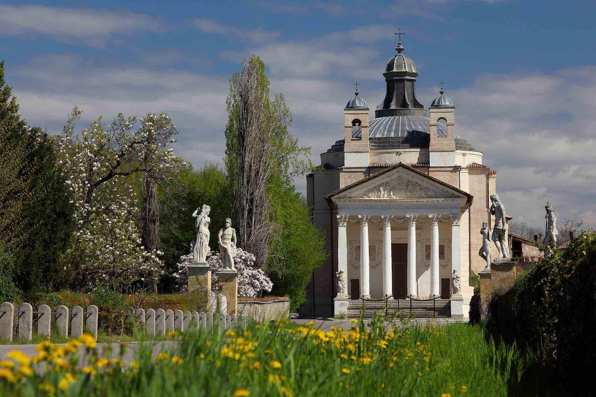 Visita Villa Maser sulle tracce di Andrea Palladio, La città di Vicenza e le ville palladiane del Veneto sono uno dei patrimoni dell'umanità UNESCO