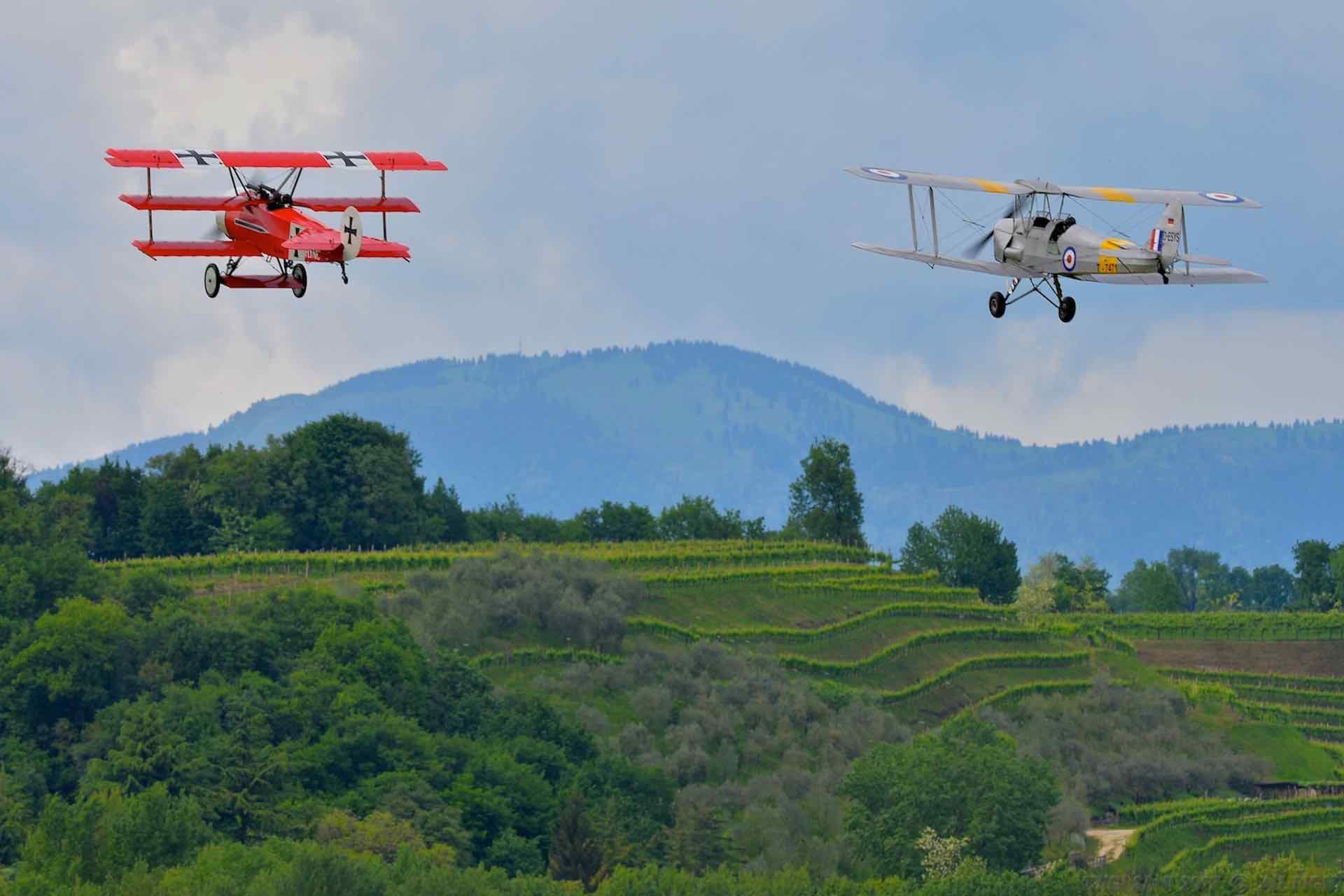 Museo Volante a Treviso per conoscere gli aerei storici famosi, aerei d'epoca originari o fedelmente ricostruiti