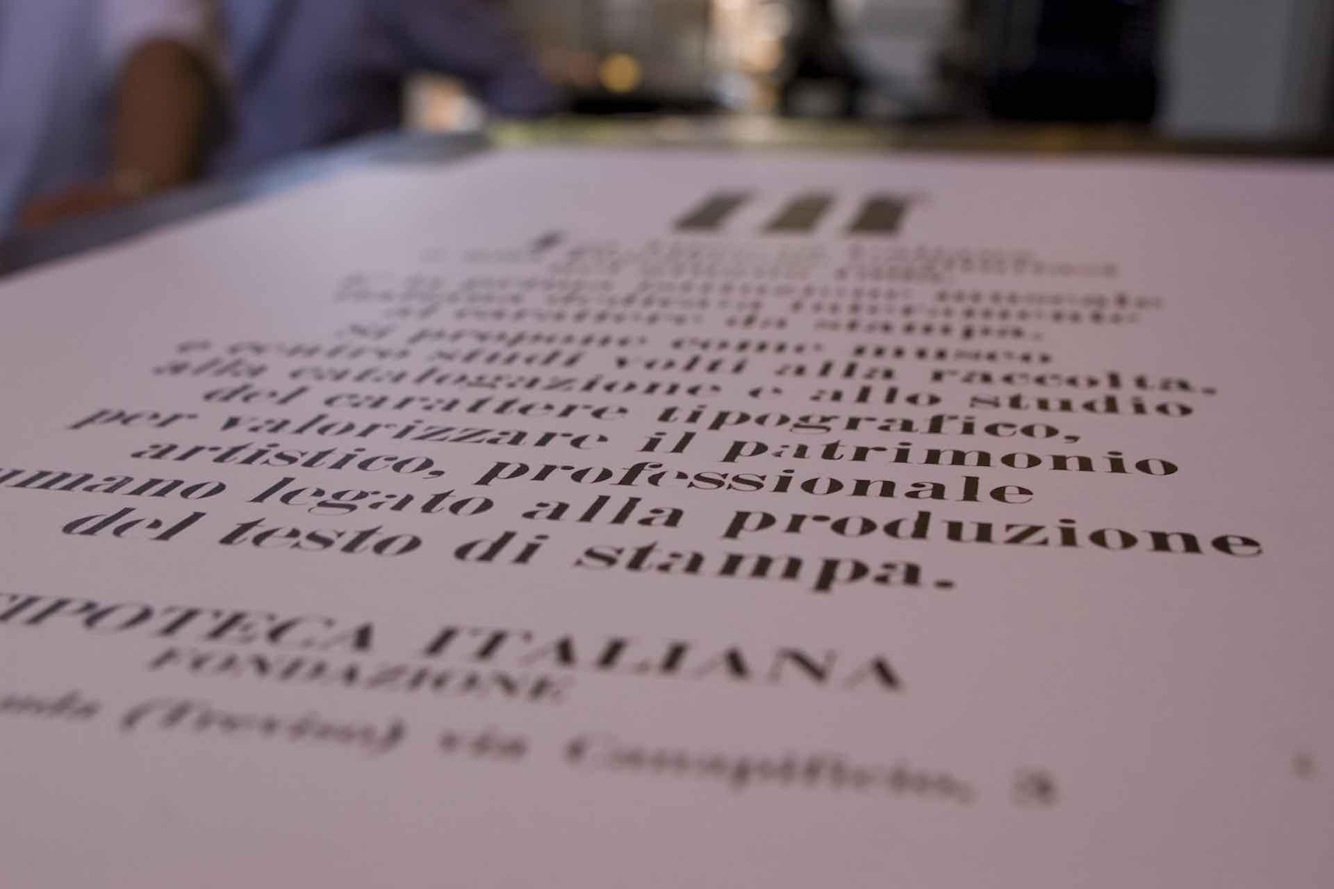 visita a Treviso del Museo della Stampa e del Design Tipografico