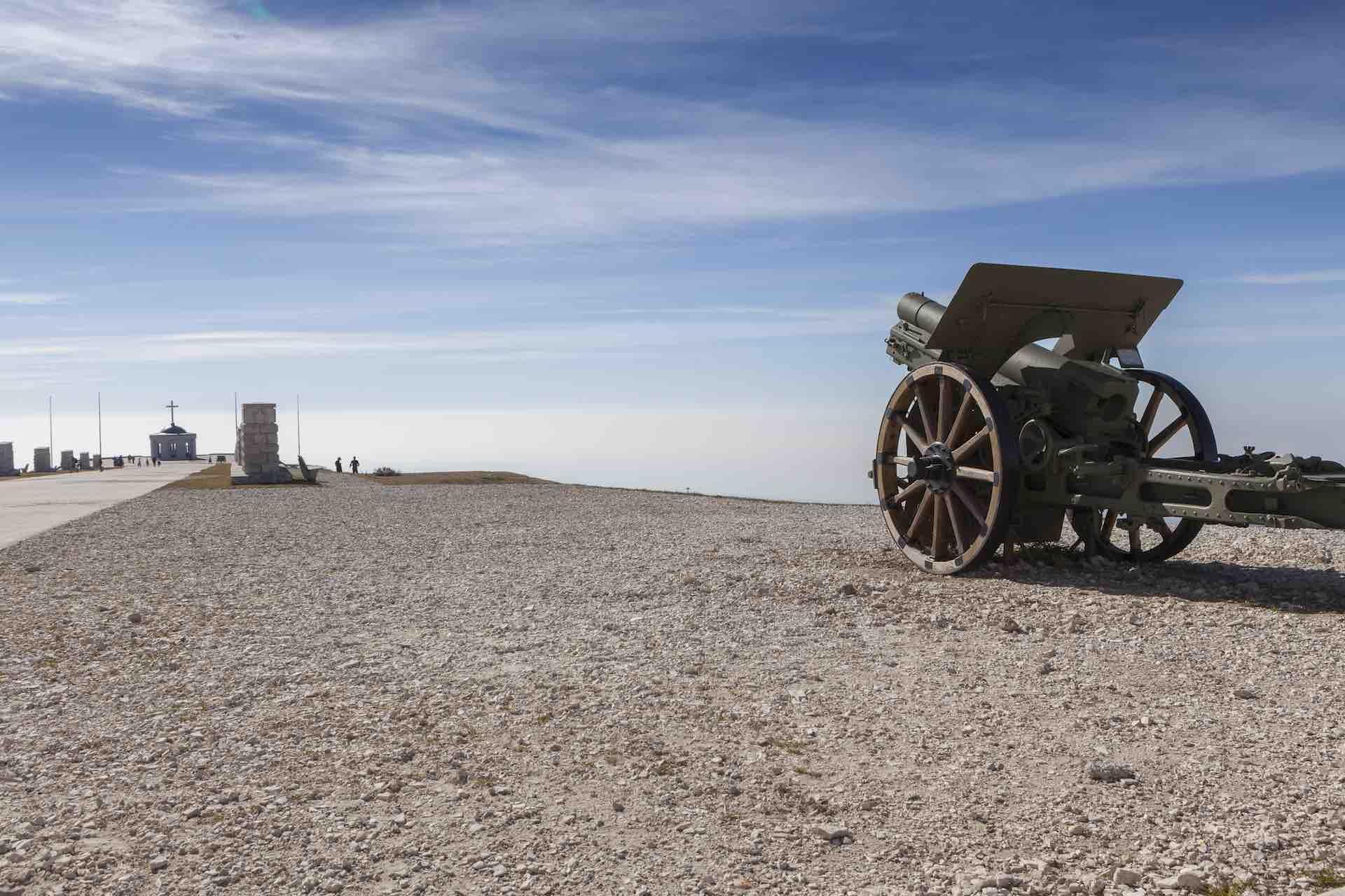 Luoghi della memoria Veneto - Ecomuseo della Grande Guerra - Sacrario Militare Italiano sul Monte Grappa