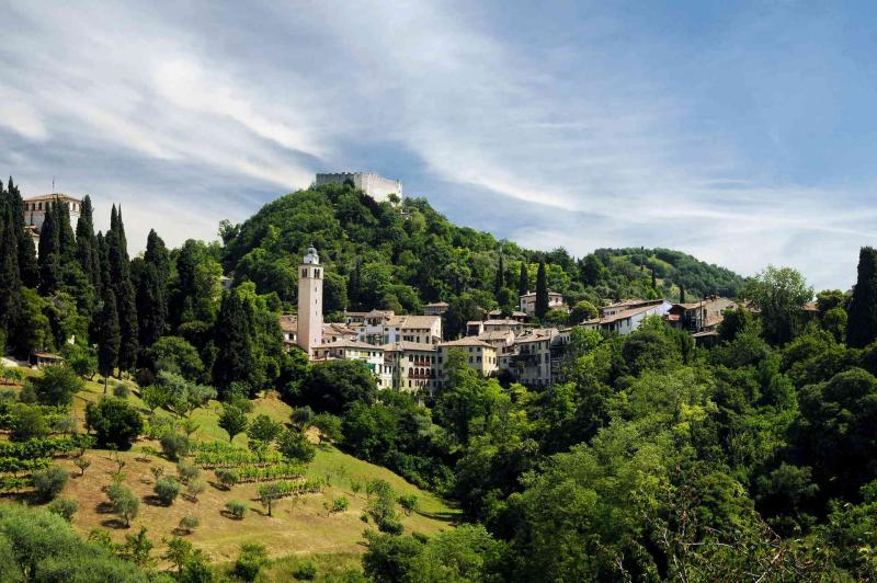 Asolo, one of the most beautiful villages in Italy