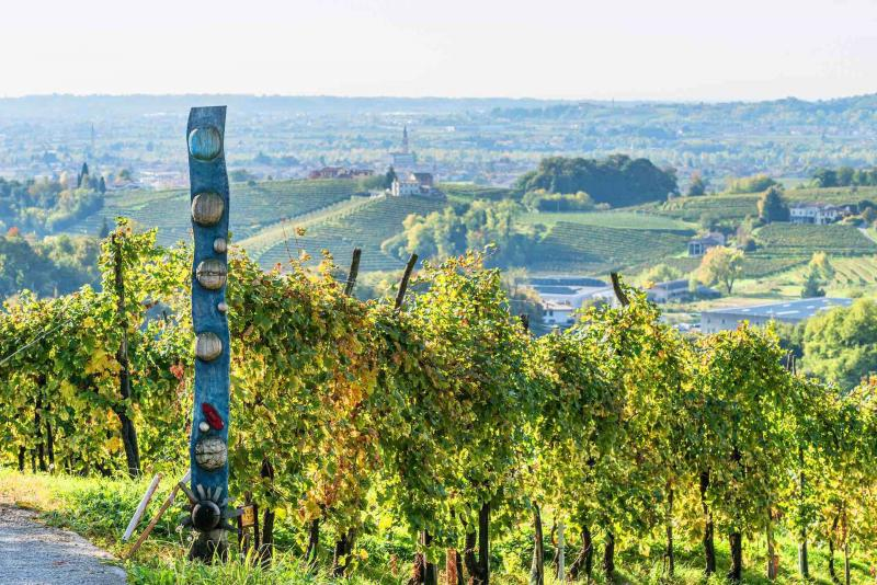 The Prosecco Circular Route:  astounding art