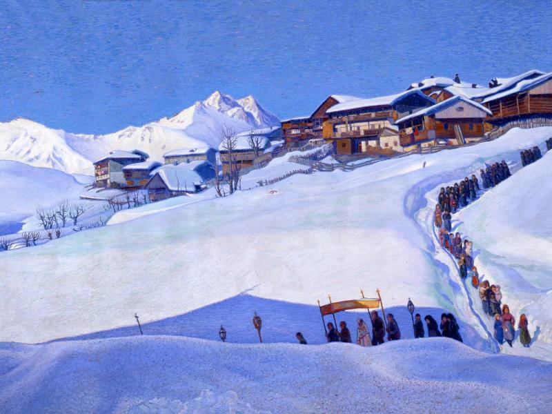 Il racconto della montagna nella pittura tra 800 e 900