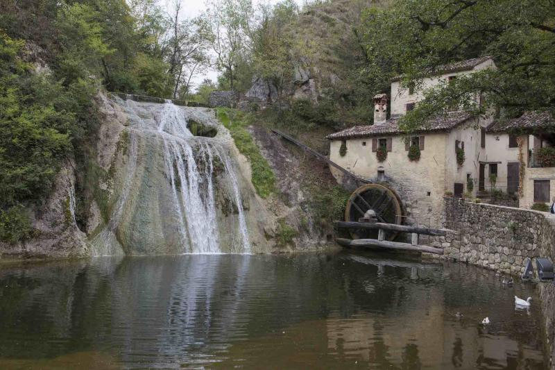 Die Mühle Molinetto della Croda