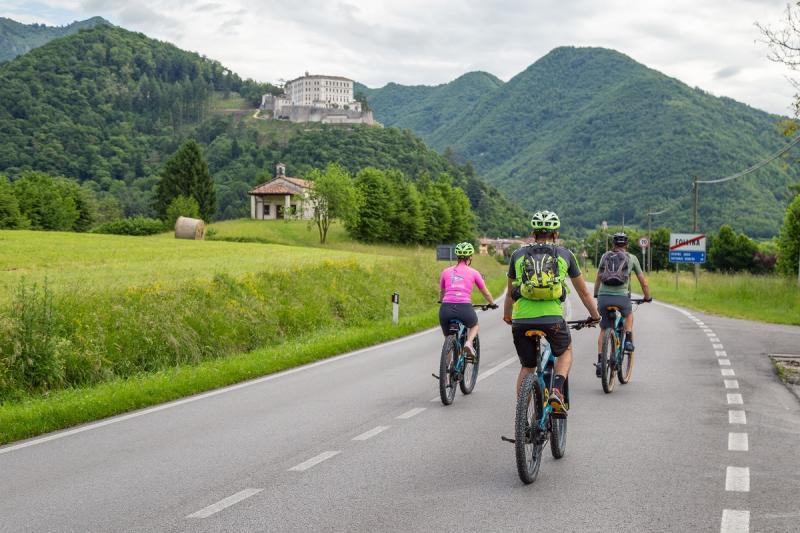 E-Bike-Tour zwischen Follina, Rolle und Arfanta